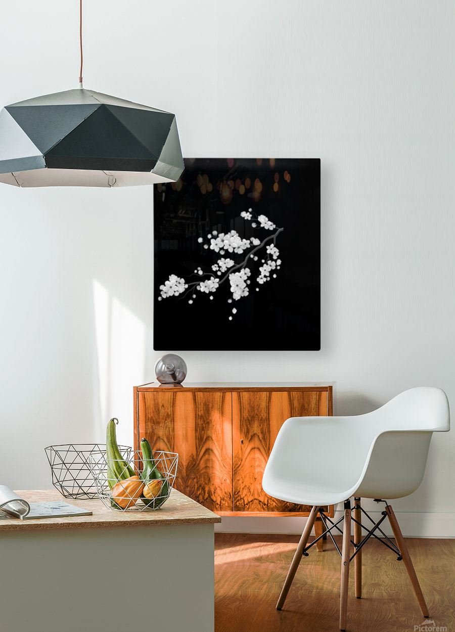 Japanese Concept 02A  HD Metal print with Floating Frame on Back