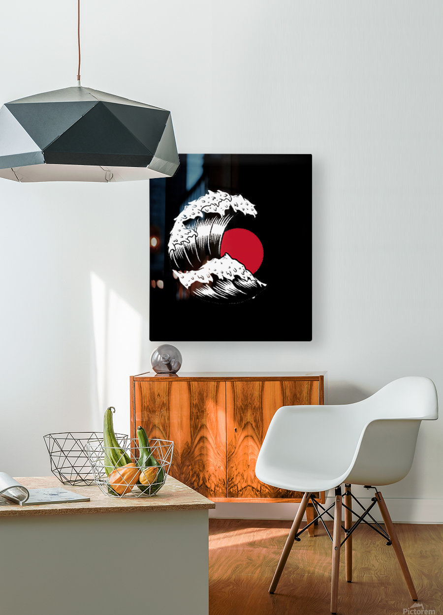 Japanese Concept 06A  HD Metal print with Floating Frame on Back