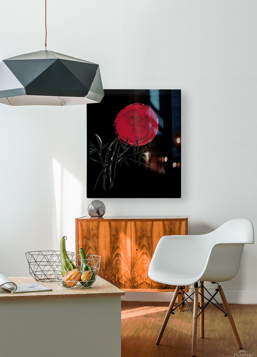 Japanese Concept 08A  HD Metal print with Floating Frame on Back