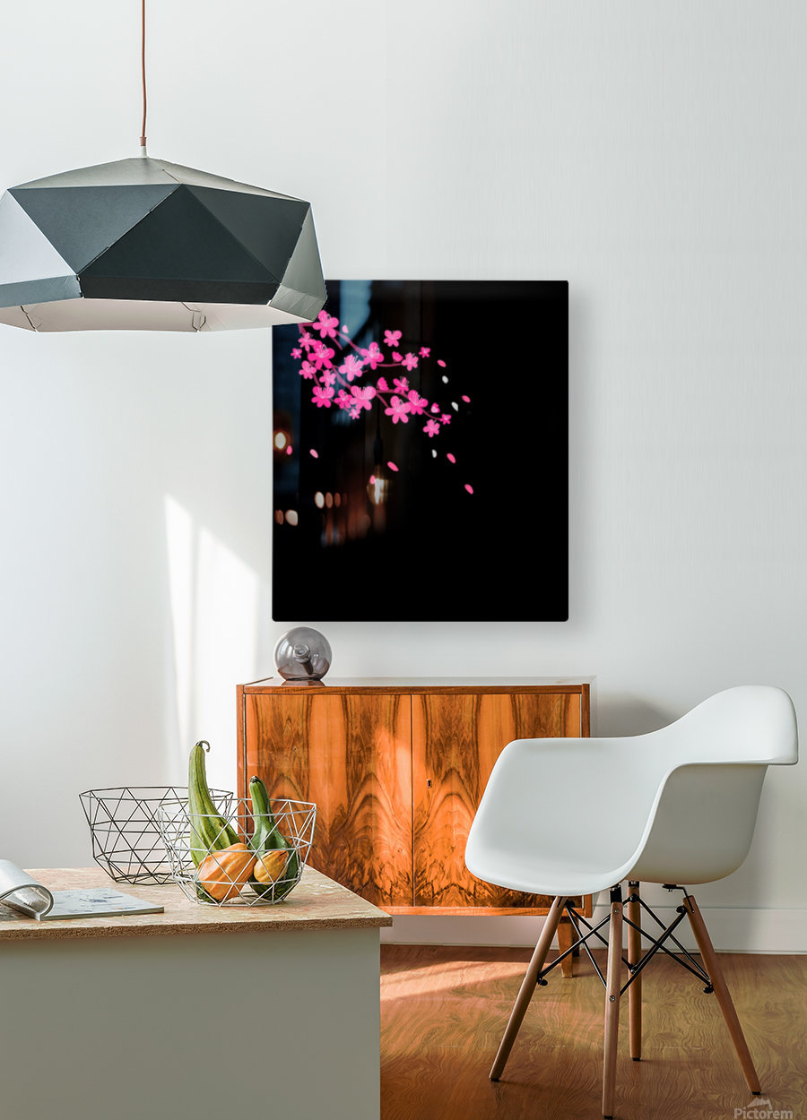 Japanese Concept 07A  HD Metal print with Floating Frame on Back