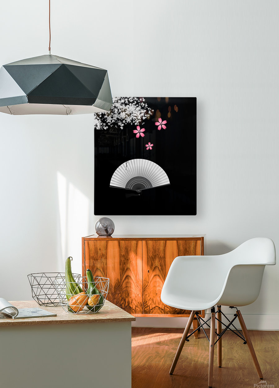 Japanese Concept 11A  HD Metal print with Floating Frame on Back