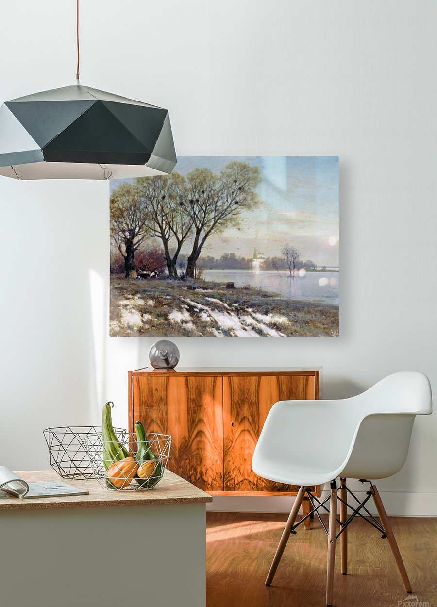 Early Spring  HD Metal print with Floating Frame on Back