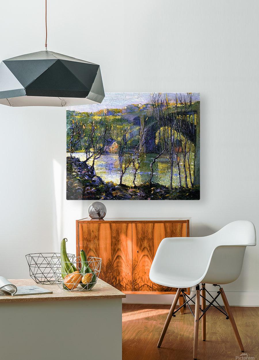 Bridge Harlem  HD Metal print with Floating Frame on Back