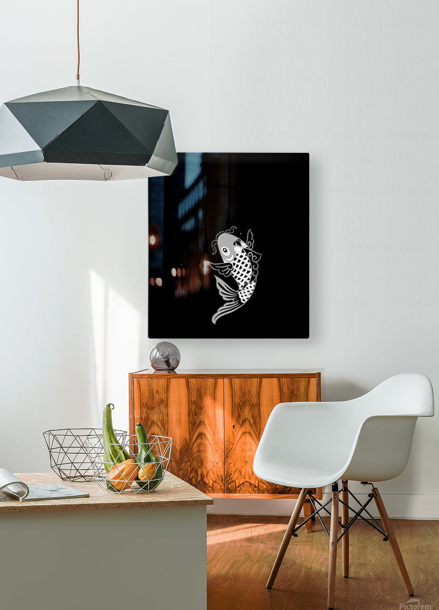 Chinese Concept 23A  HD Metal print with Floating Frame on Back