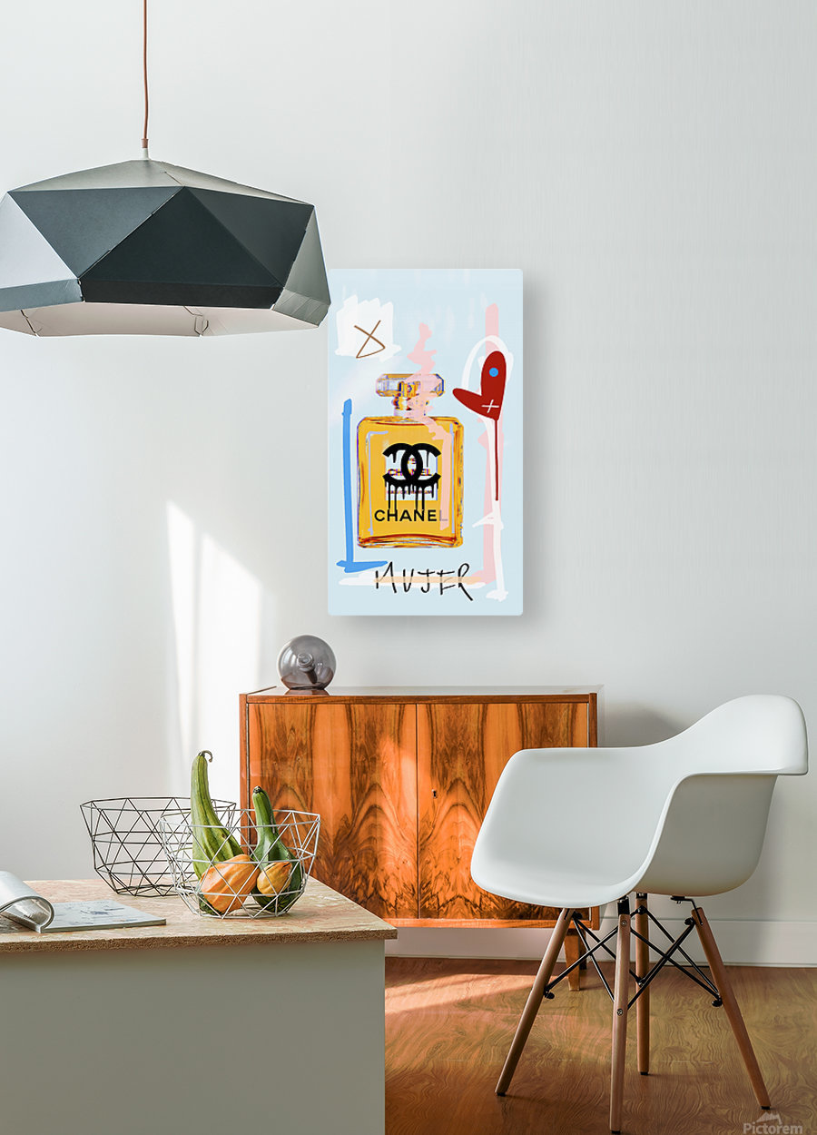 Chanel  HD Metal print with Floating Frame on Back
