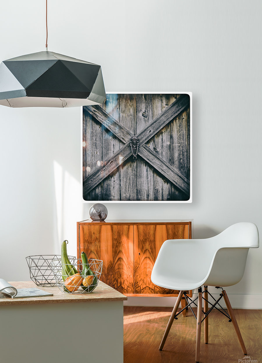 X Marks the Spot  HD Metal print with Floating Frame on Back