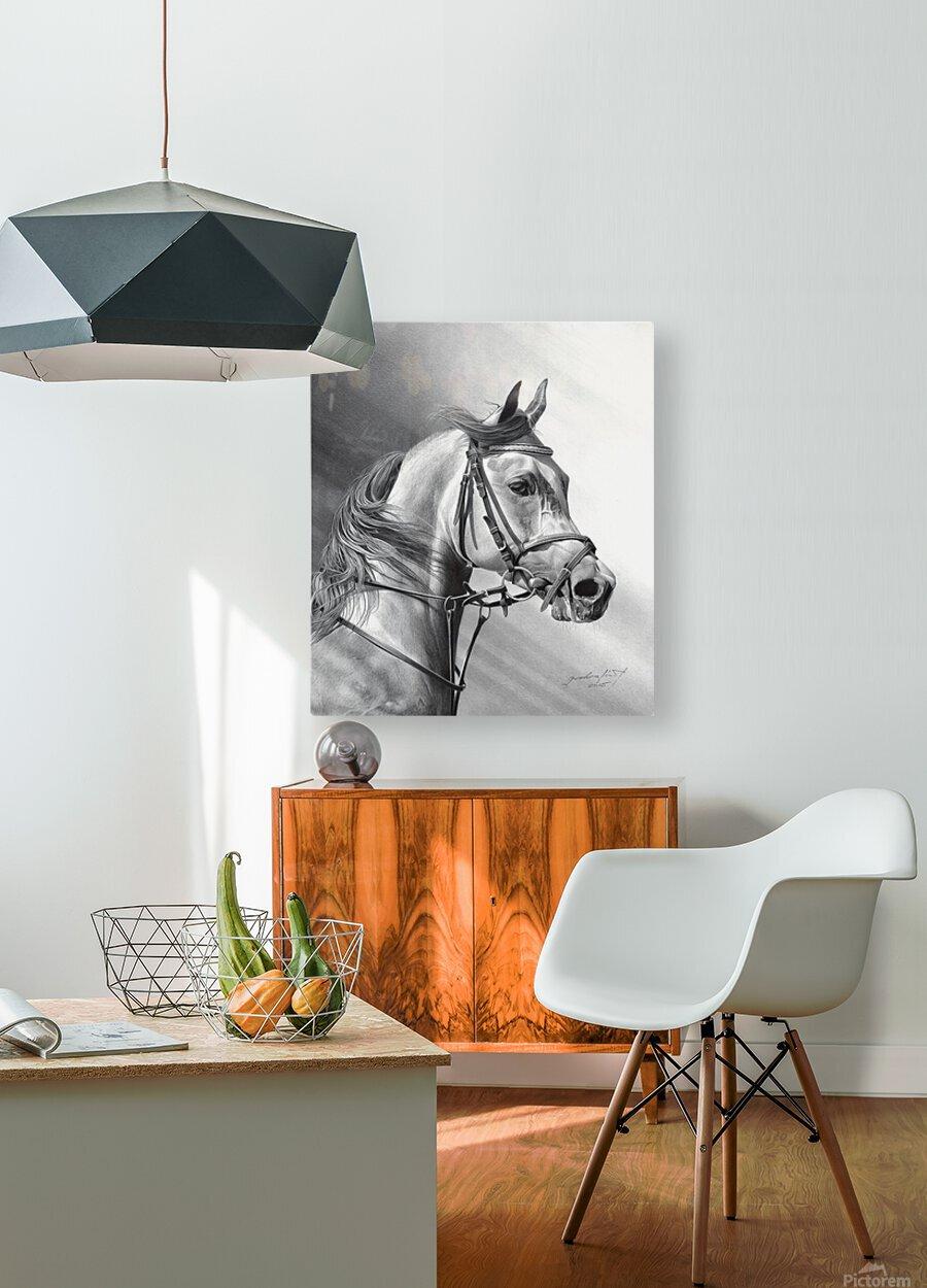 ARABIAN BEAUTY  HD Metal print with Floating Frame on Back