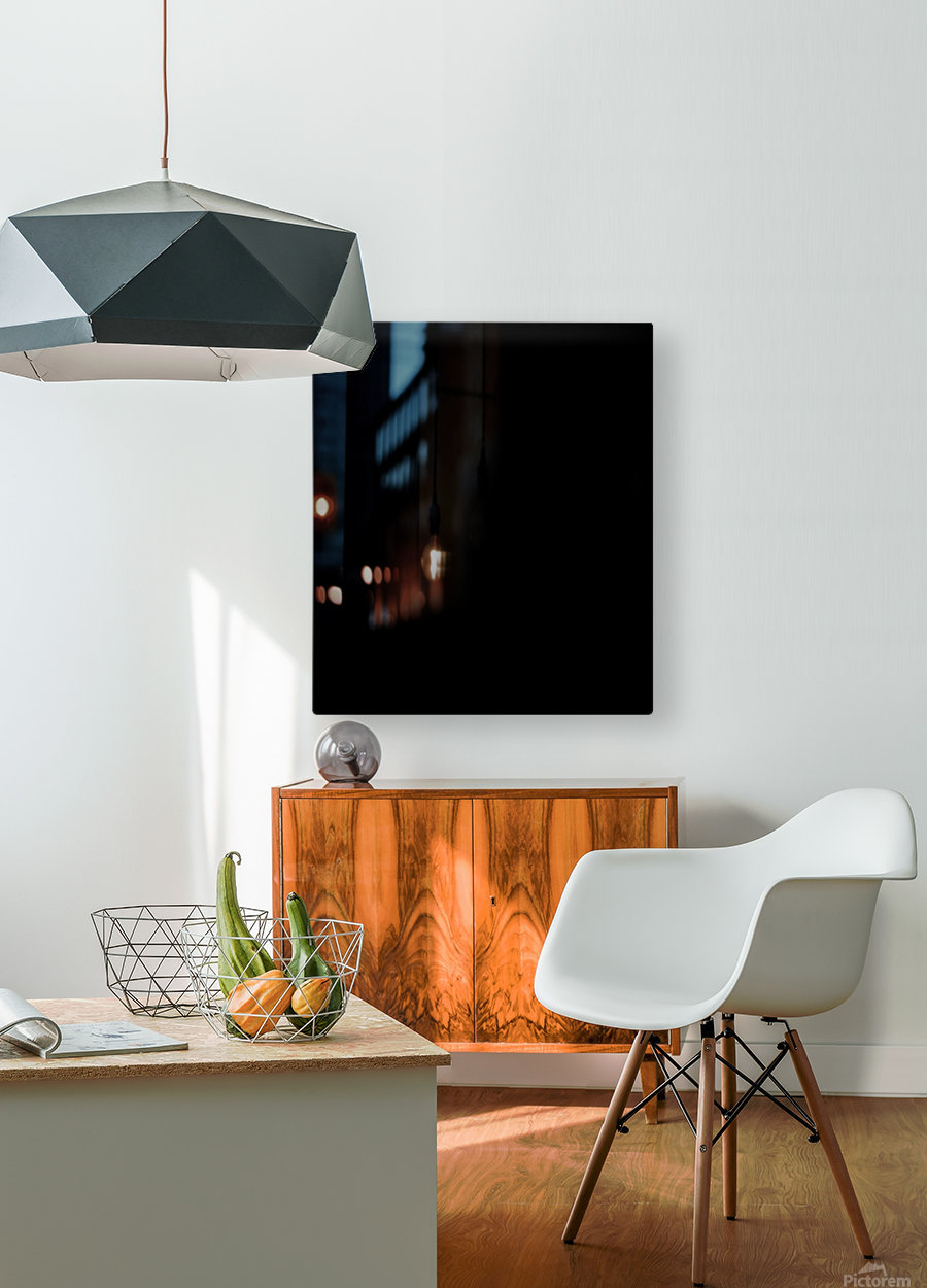 Chinese Concept 39A  HD Metal print with Floating Frame on Back