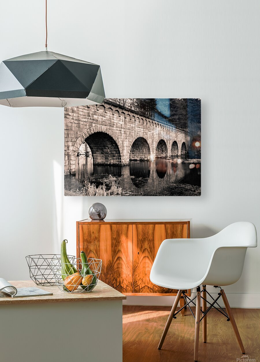 Perfect Circles  HD Metal print with Floating Frame on Back