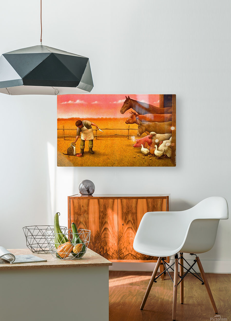 Pawel Kuczynski17  HD Metal print with Floating Frame on Back