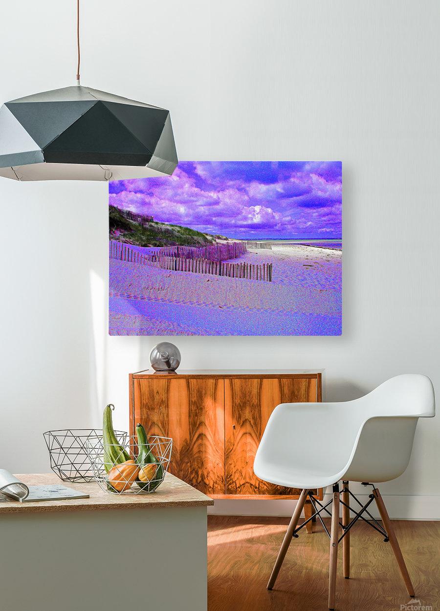 Nauset Beach Cape Cod Massachusetts  HD Metal print with Floating Frame on Back