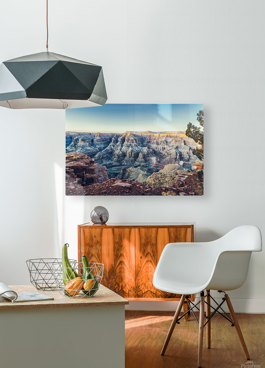 Grand Canyon National  HD Metal print with Floating Frame on Back