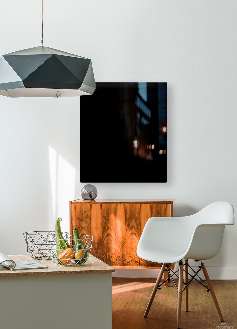 Chinese Concept 53A  HD Metal print with Floating Frame on Back