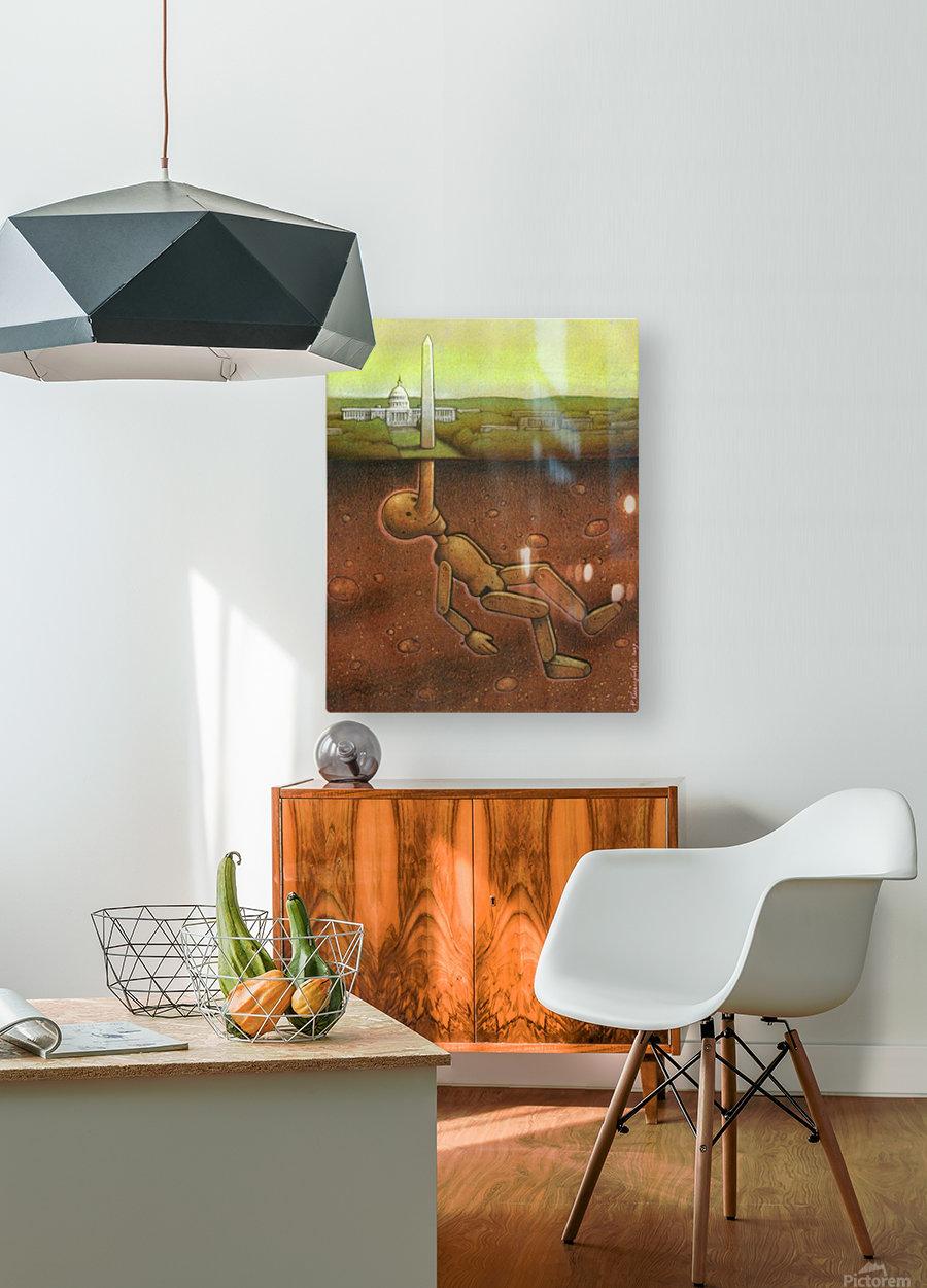 Pawel Kuczynski 25  HD Metal print with Floating Frame on Back
