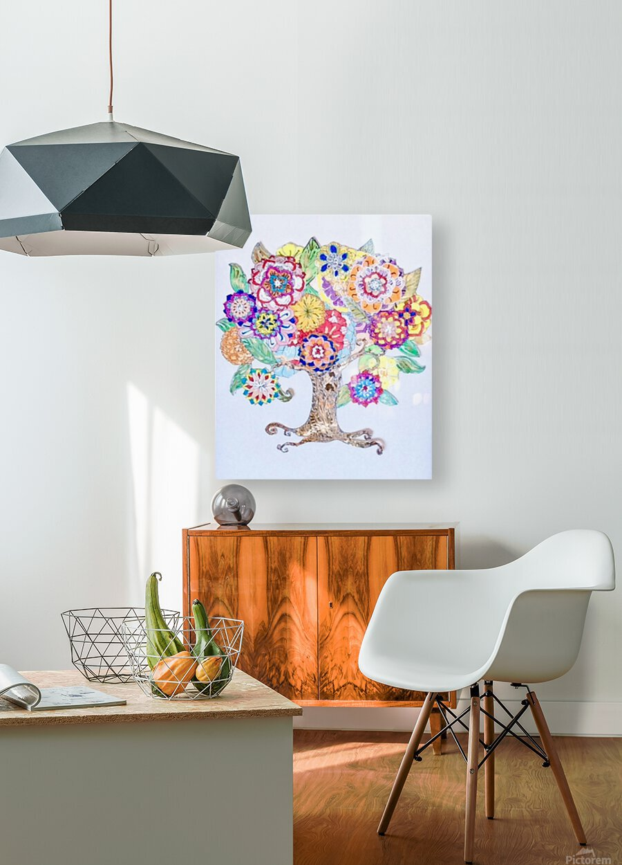 Tree of Life   HD Metal print with Floating Frame on Back