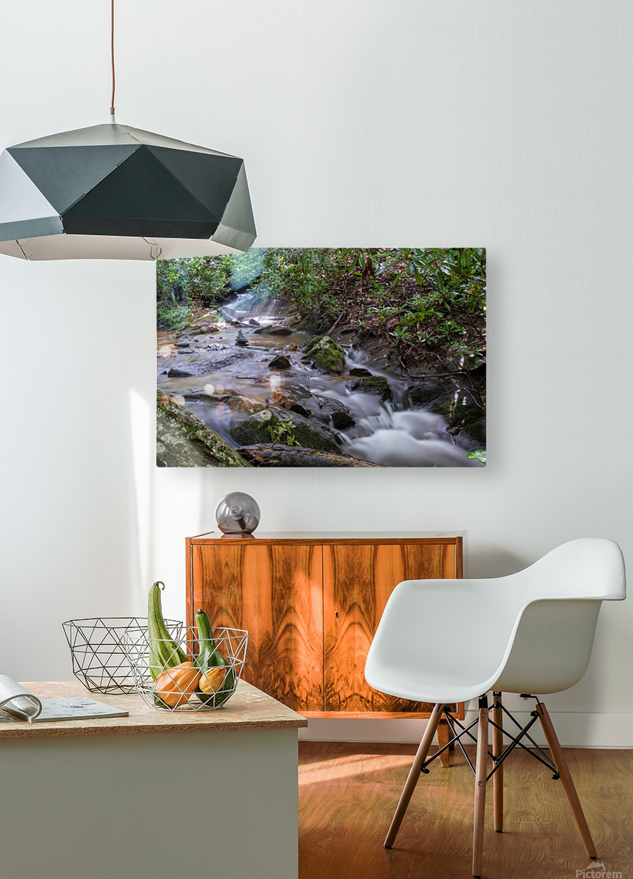 Zen Stones  HD Metal print with Floating Frame on Back