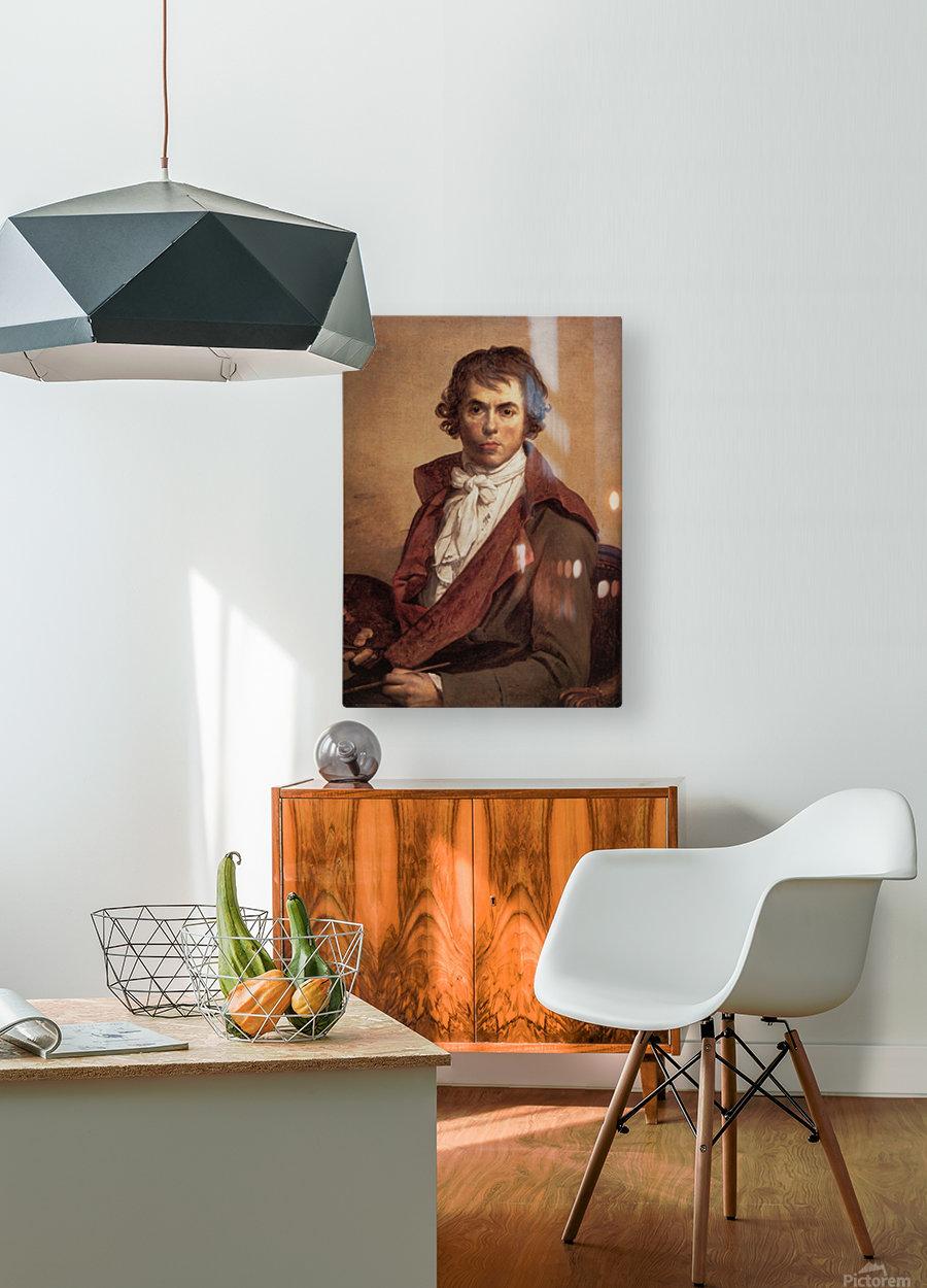 David Self Portrait  HD Metal print with Floating Frame on Back