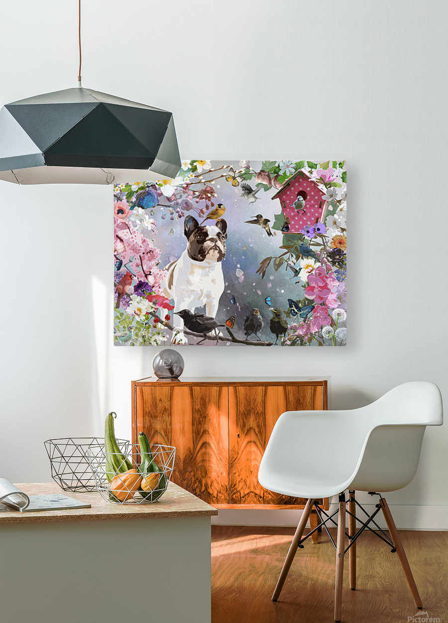Olive Garden  HD Metal print with Floating Frame on Back