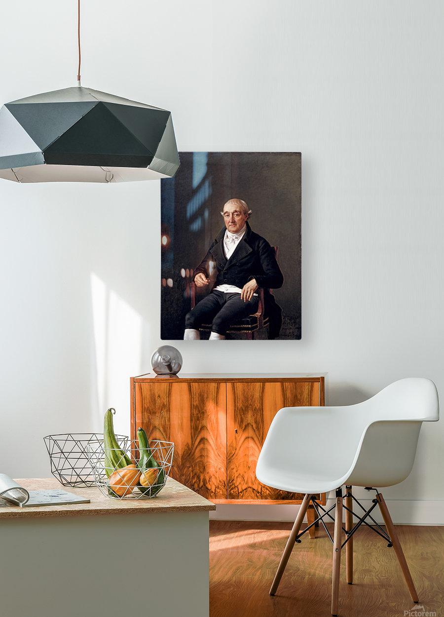 Mr.Cooper  HD Metal print with Floating Frame on Back