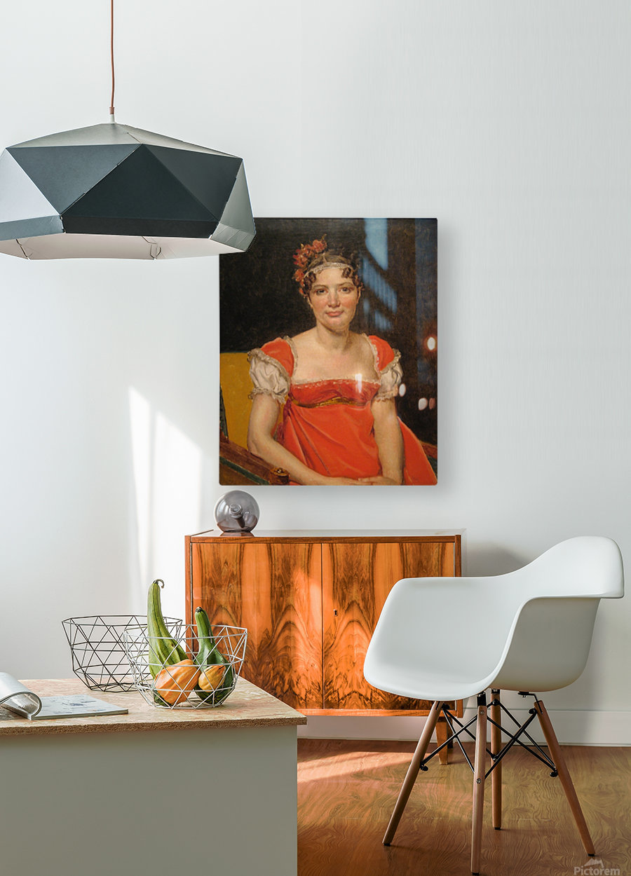 Laure  HD Metal print with Floating Frame on Back