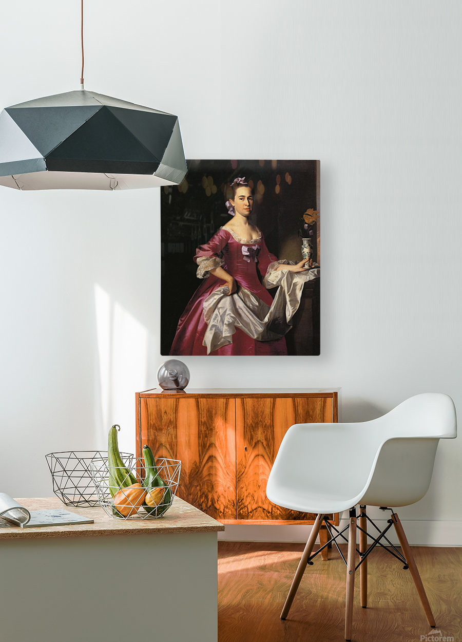 Mrs.George Watson  HD Metal print with Floating Frame on Back