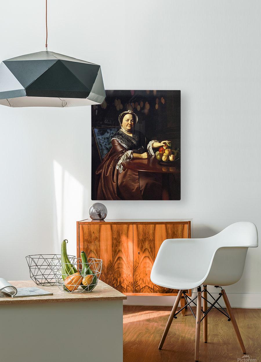 Mrs.Ezekiel  HD Metal print with Floating Frame on Back