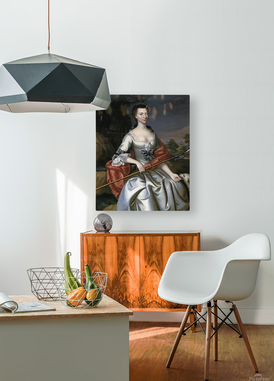 Ann Tyng  HD Metal print with Floating Frame on Back