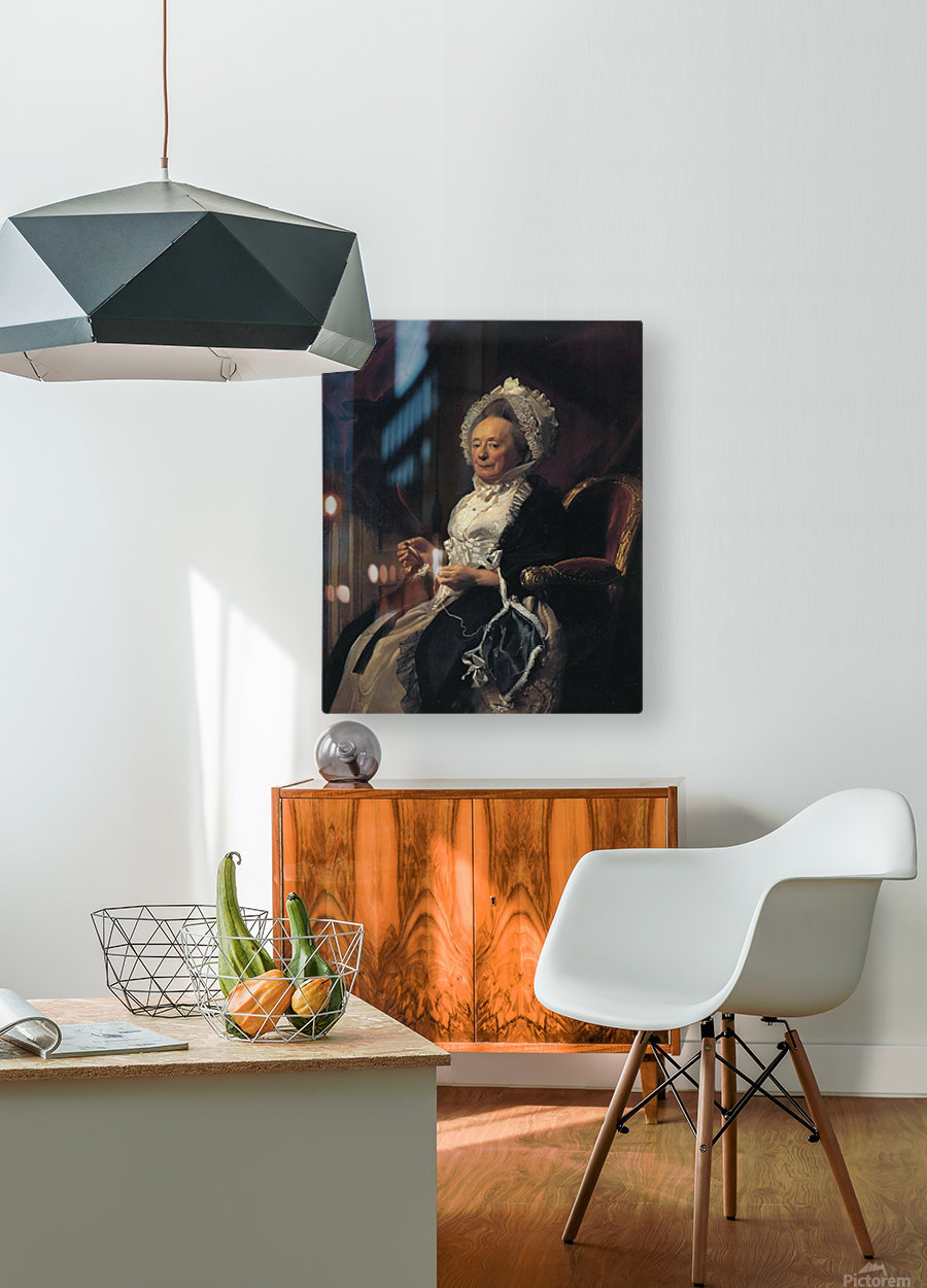 Mrs Seymour Fort  HD Metal print with Floating Frame on Back