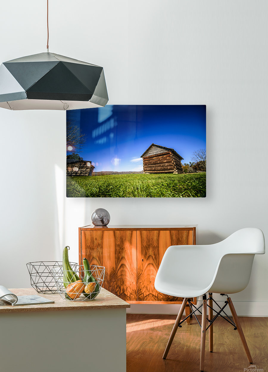 Cades Cove  HD Metal print with Floating Frame on Back