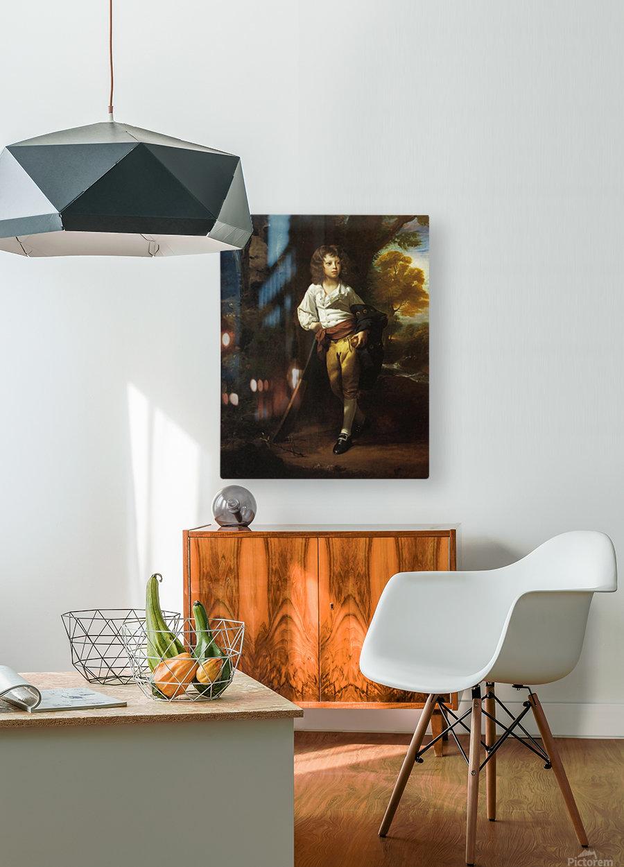 Richard Heber  HD Metal print with Floating Frame on Back