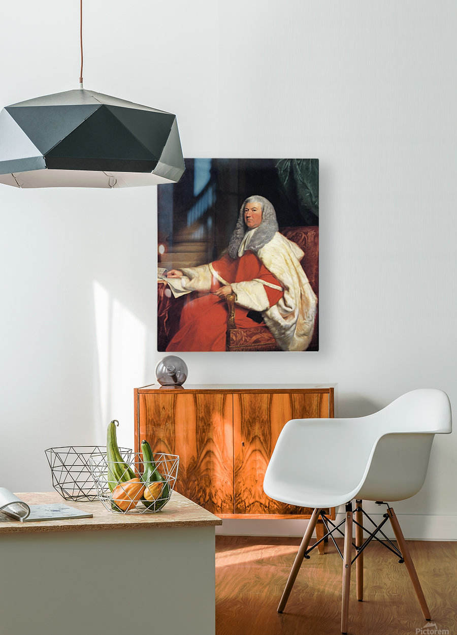 George John 2nd Earl Spencer  HD Metal print with Floating Frame on Back