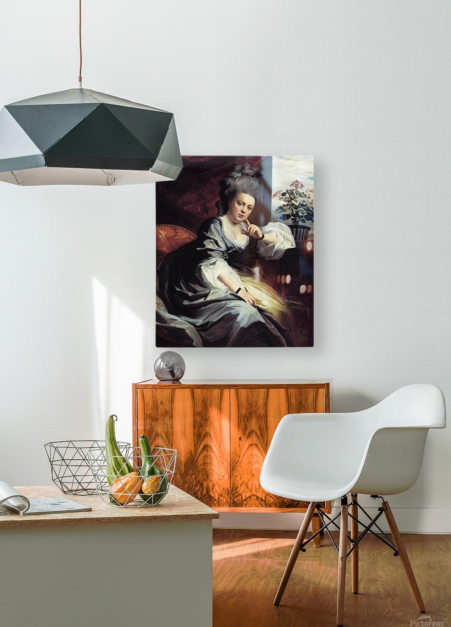 Mrs. Clark Gayton  HD Metal print with Floating Frame on Back