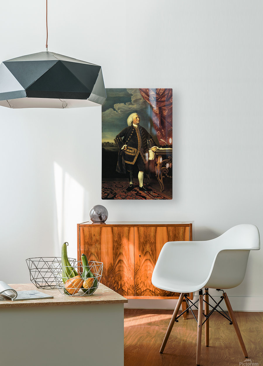 Jeremiah Lee  HD Metal print with Floating Frame on Back