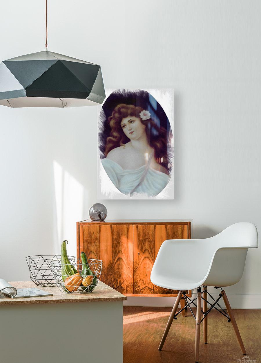 Titian Beauty  Impression métal HD avec cadre flottant sur le dos