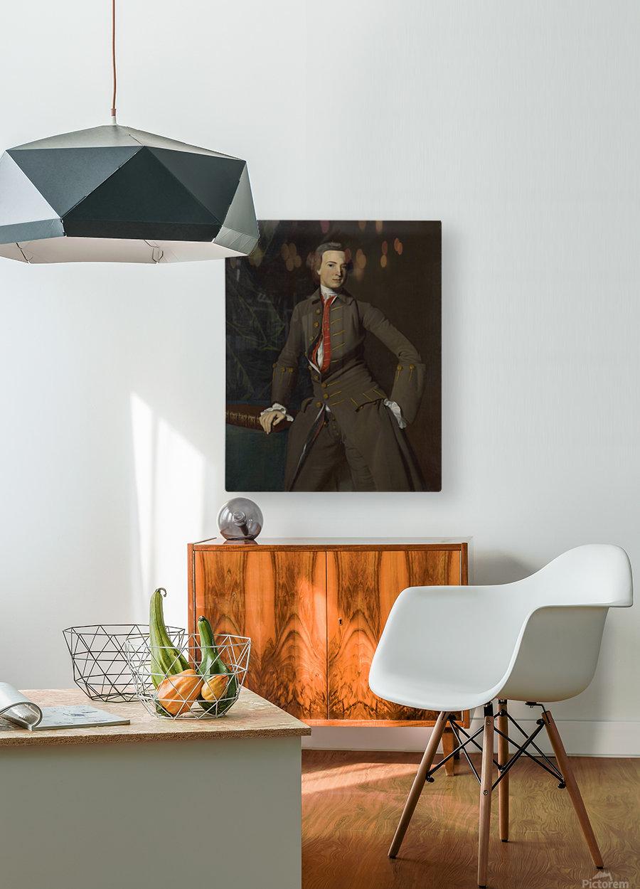 Georgians Pickman  HD Metal print with Floating Frame on Back