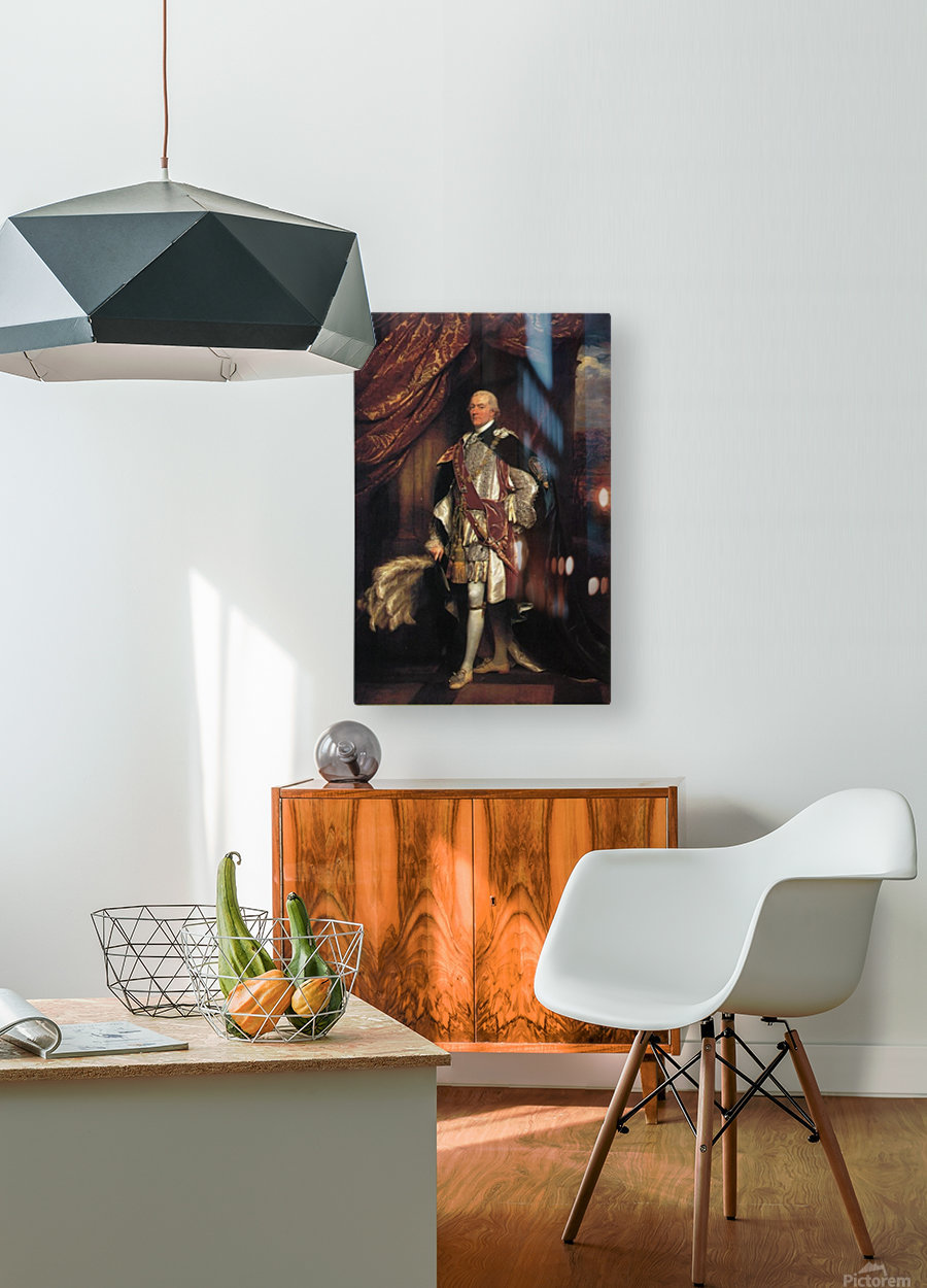 Baron Graham  HD Metal print with Floating Frame on Back