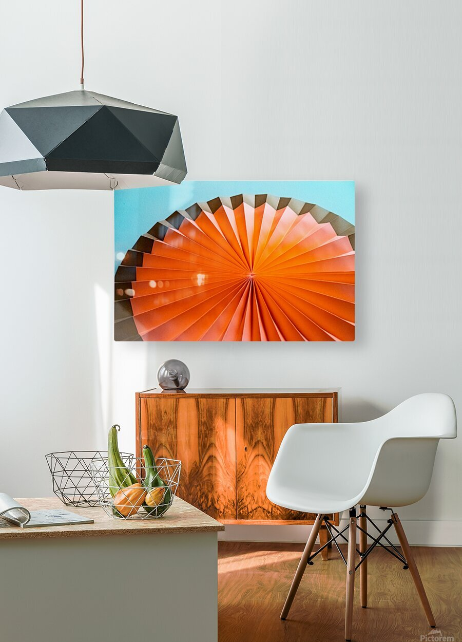 Partytime  HD Metal print with Floating Frame on Back