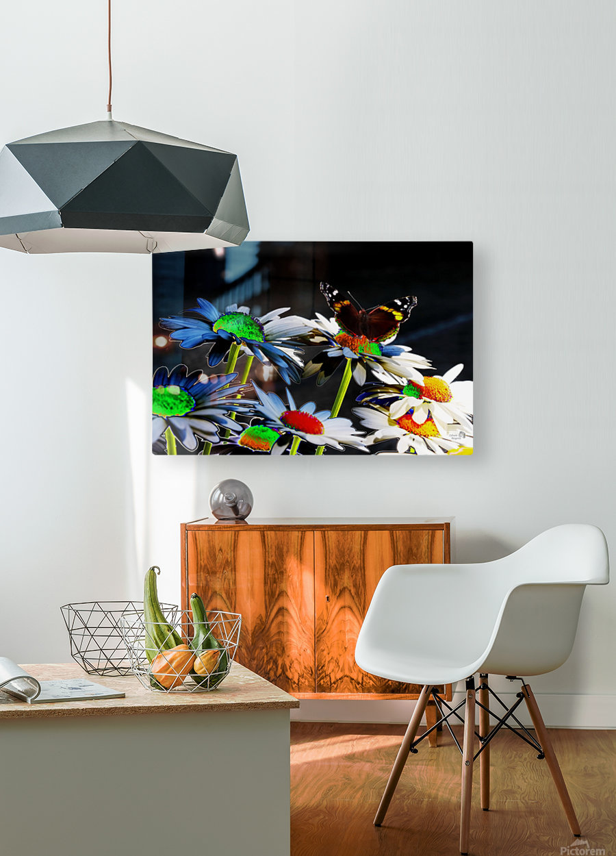 Couleurs en nature  HD Metal print with Floating Frame on Back