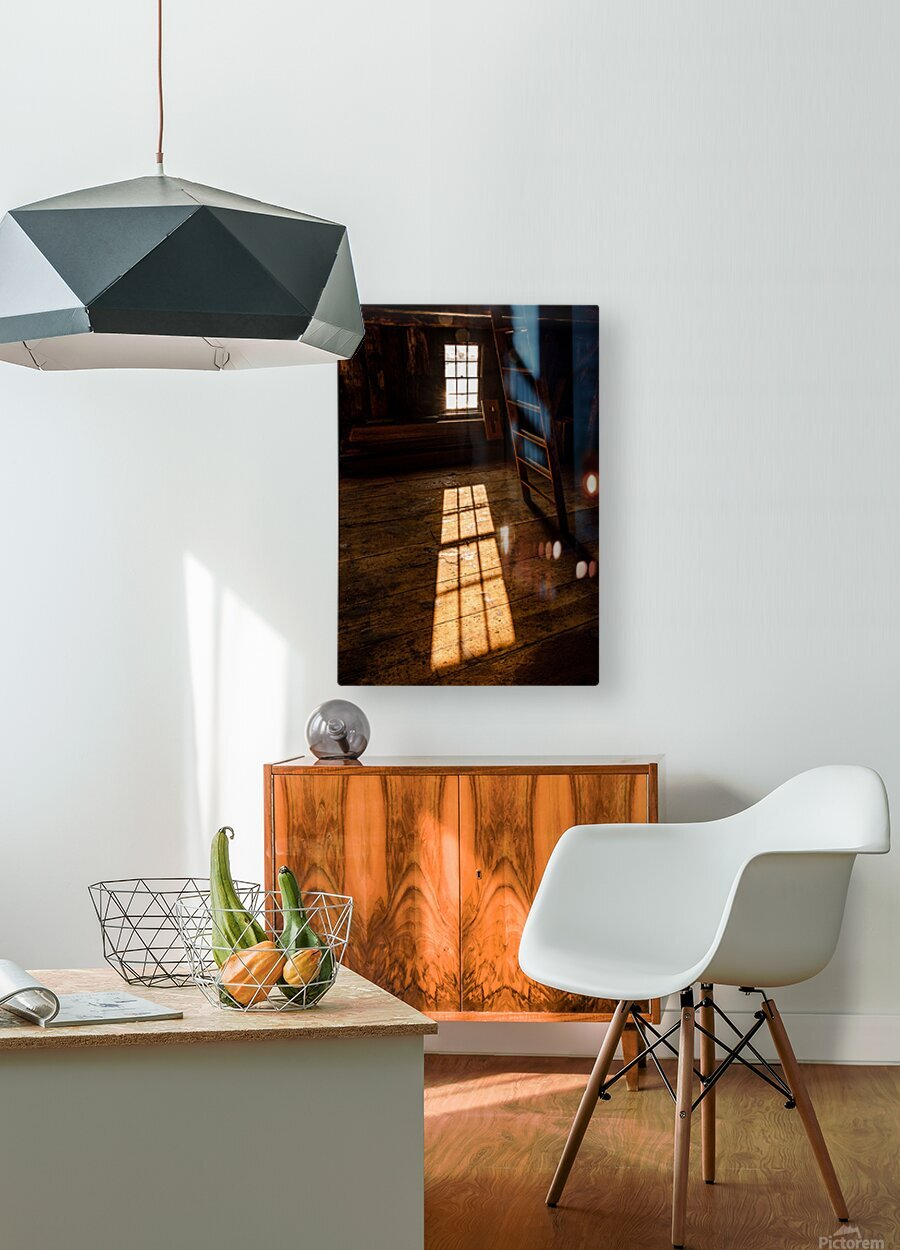 Shaefe Warehouse Loft  HD Metal print with Floating Frame on Back