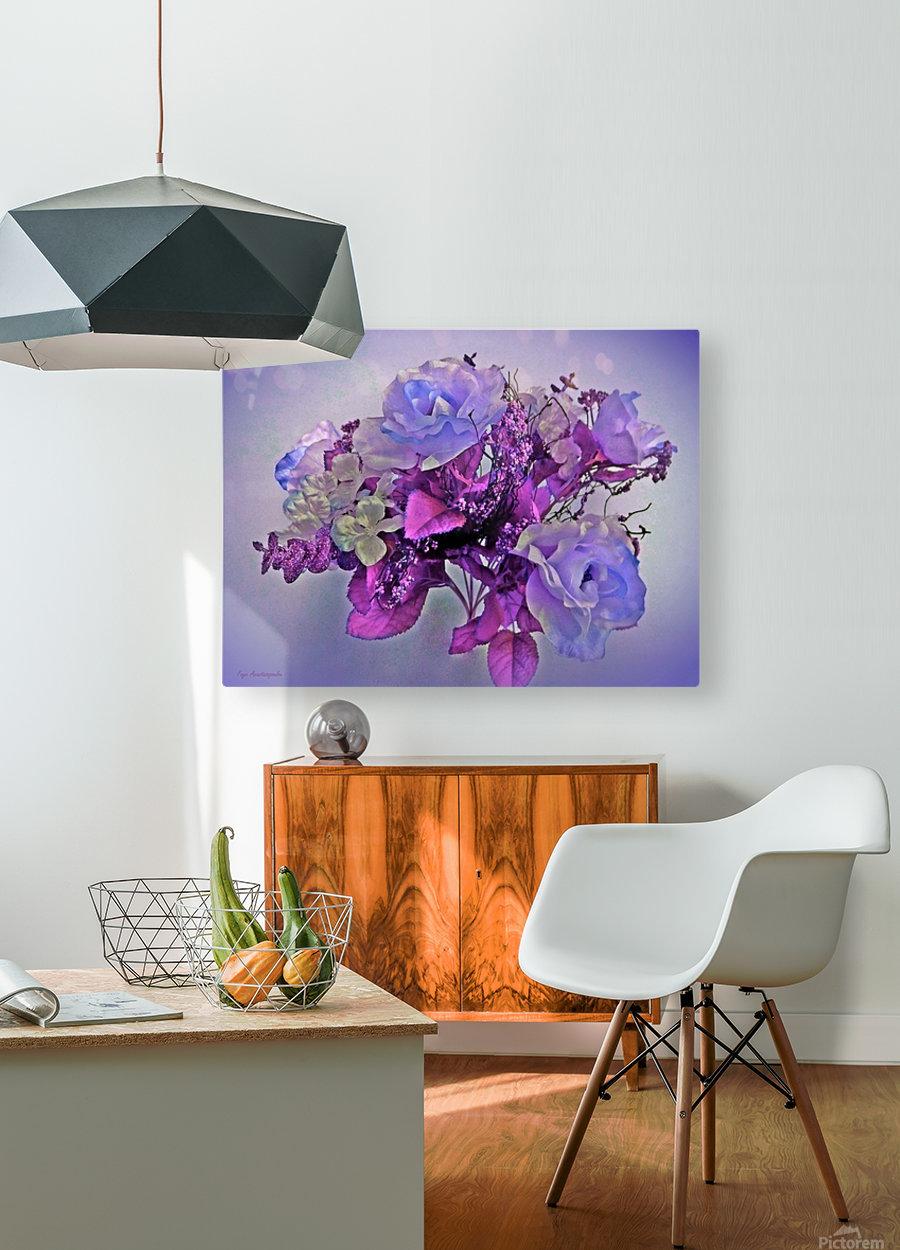 Mauve Springtime Morning  HD Metal print with Floating Frame on Back