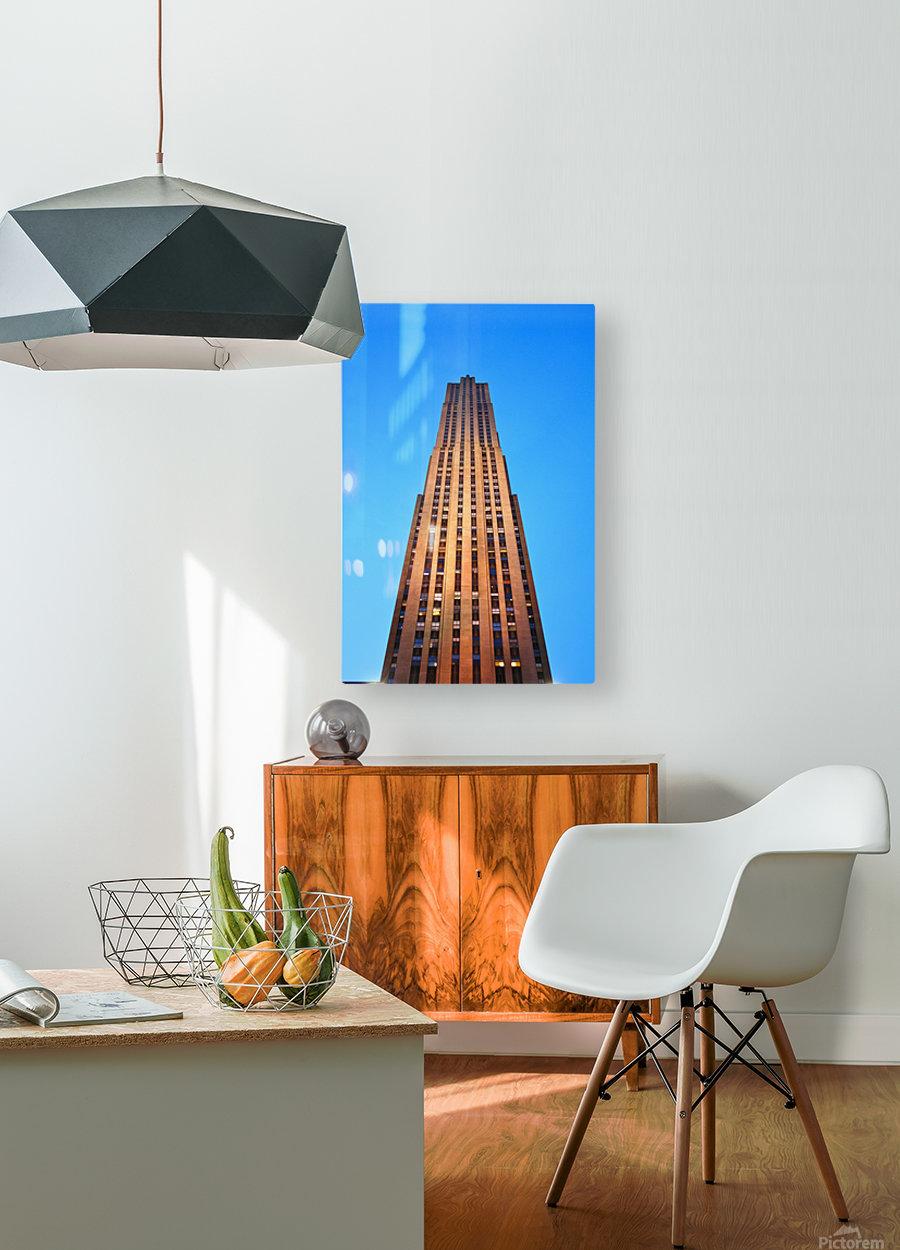 Rockefeller  HD Metal print with Floating Frame on Back