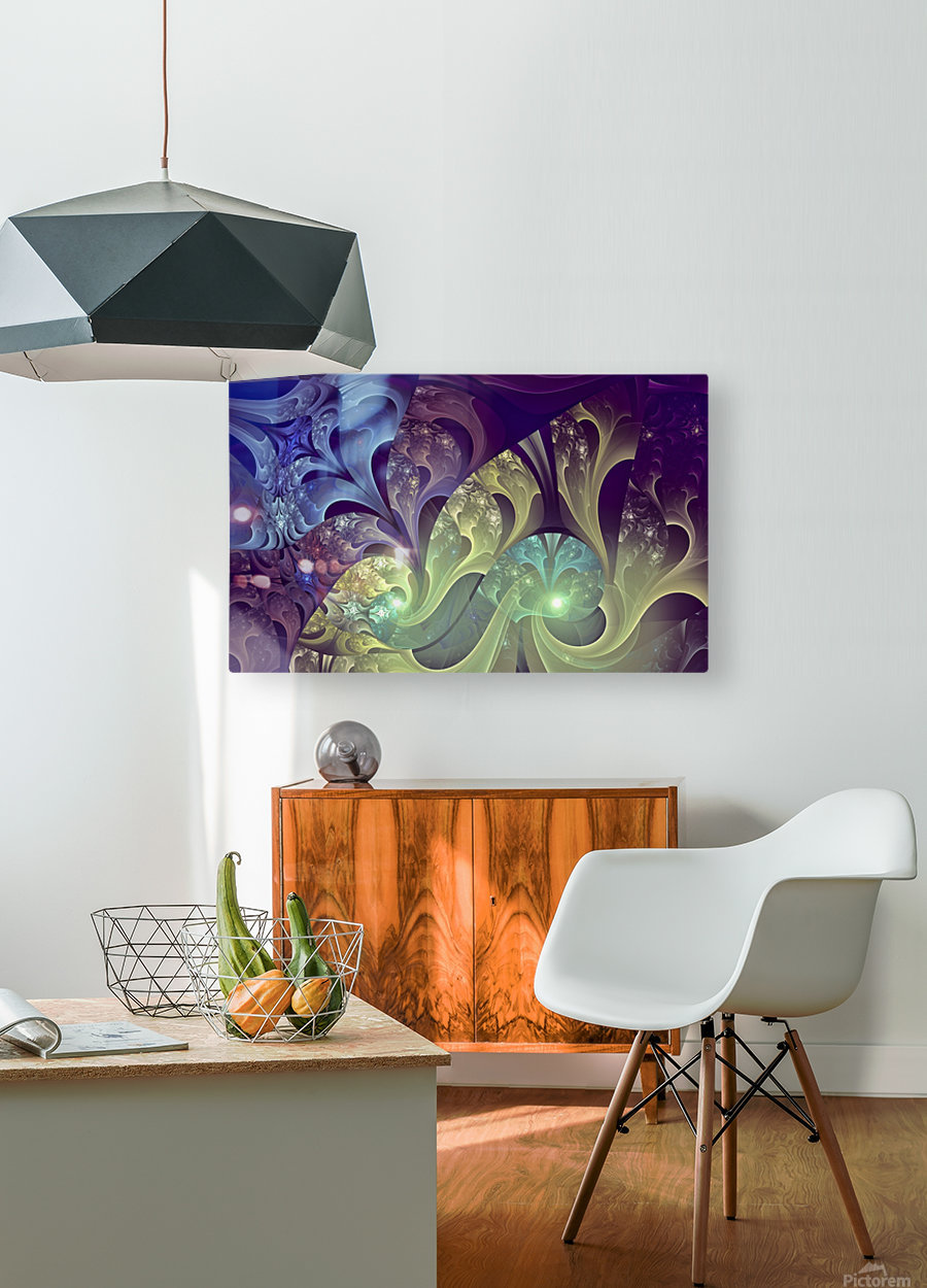 Dreamscape  HD Metal print with Floating Frame on Back