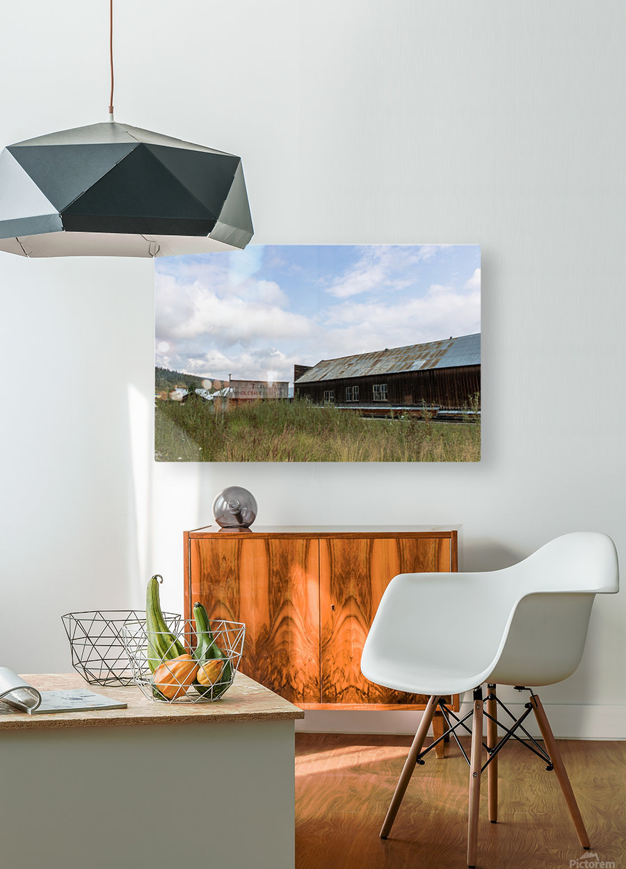 Dawson City, YT   19  HD Metal print with Floating Frame on Back