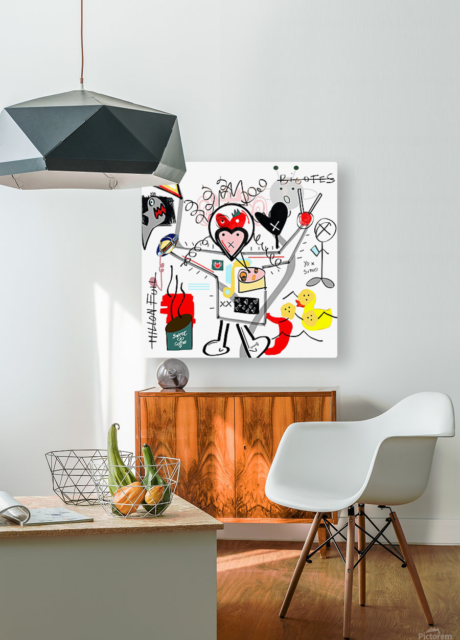Sushi Time  HD Metal print with Floating Frame on Back