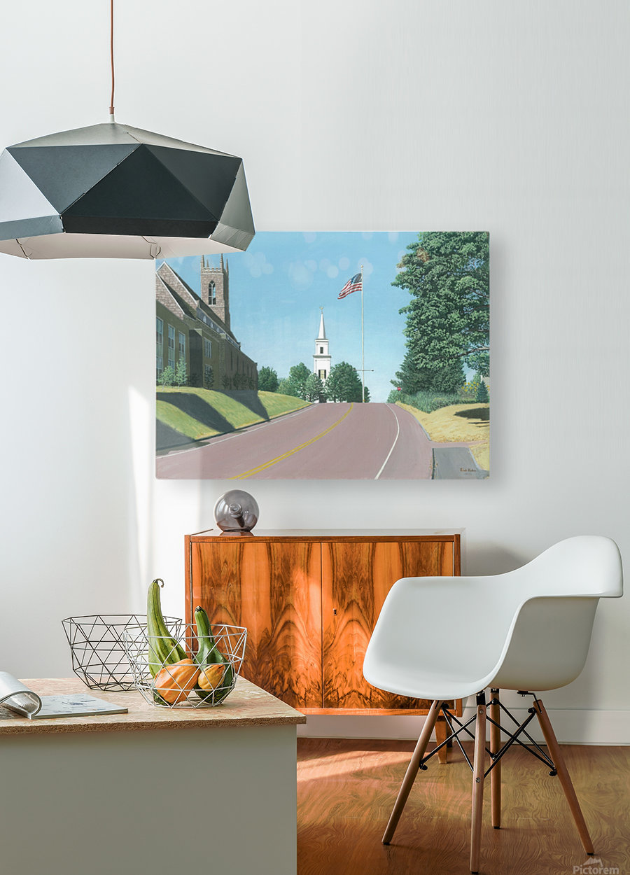 Church Hill Road - Newtown Scenes 16X20  HD Metal print with Floating Frame on Back