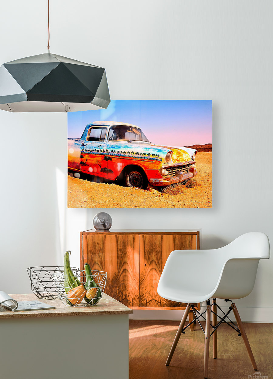 Quirky Sights of the Outback 4  HD Metal print with Floating Frame on Back