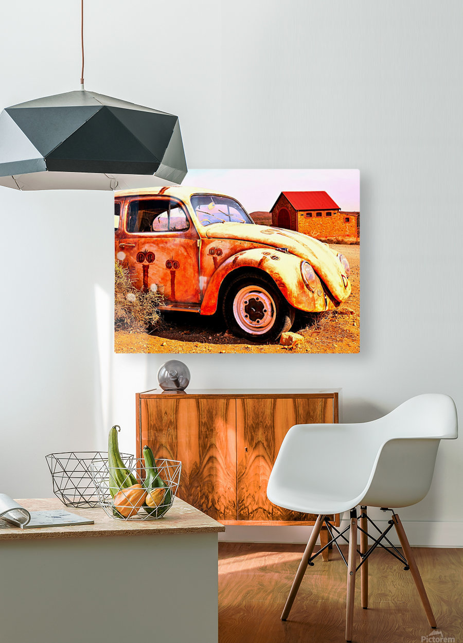 Quirky Sights of the Outback 5  HD Metal print with Floating Frame on Back