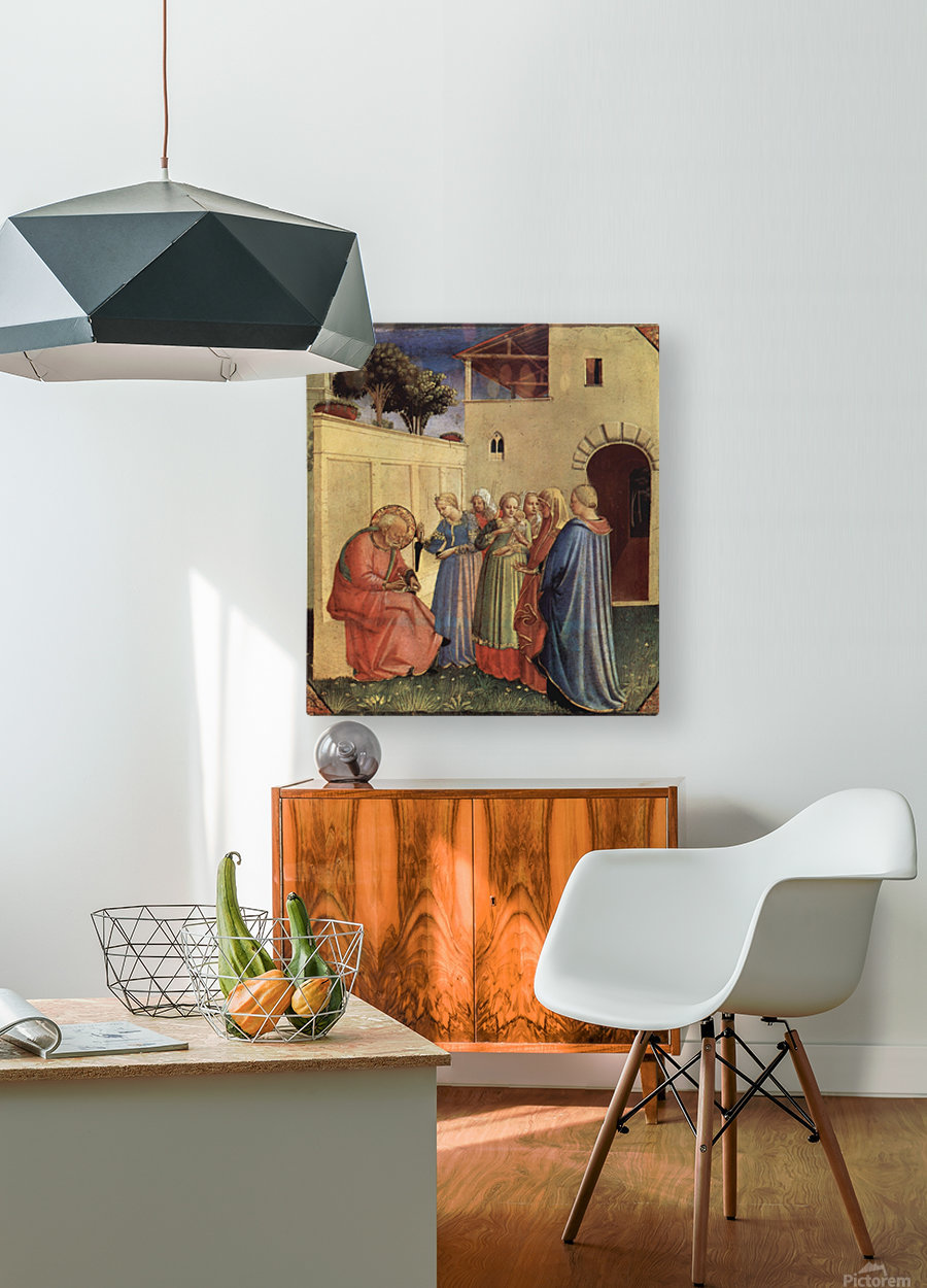 Public teaches  HD Metal print with Floating Frame on Back