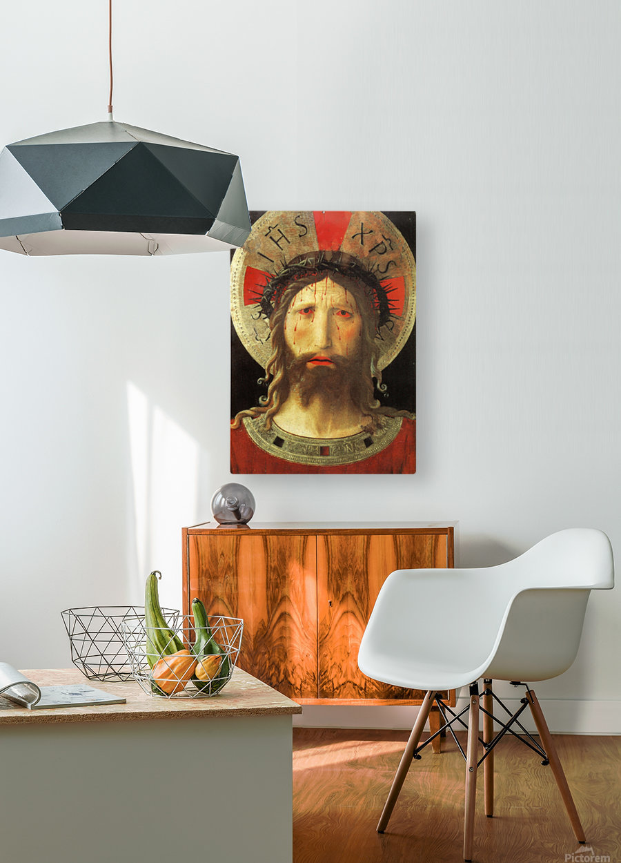 The Color of Christ Passion  HD Metal print with Floating Frame on Back