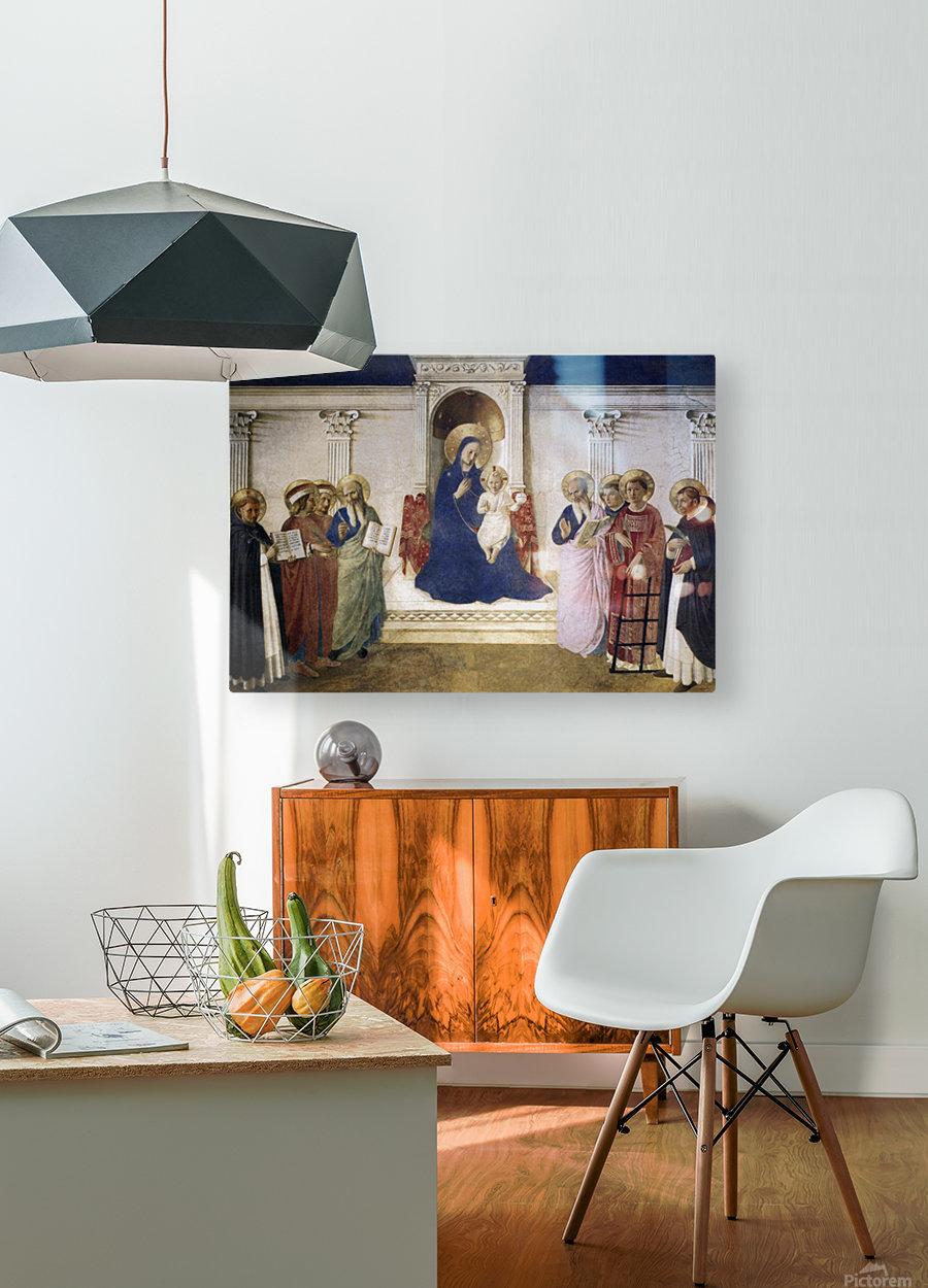 Sacred Conversation  HD Metal print with Floating Frame on Back